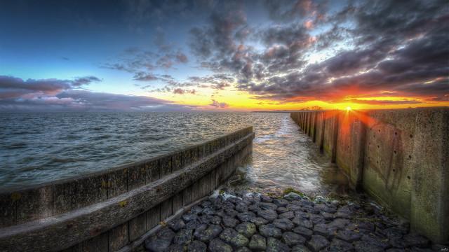 The edge of the Cotton Sea