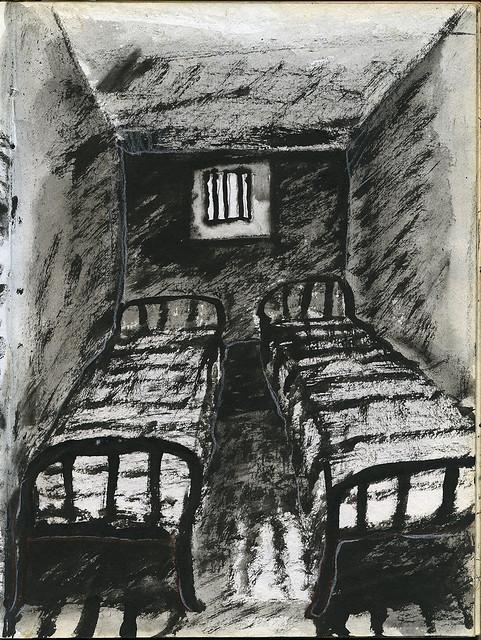 早期素描「監牢與病院」