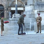 Practising for Remembrance Day in Preston?