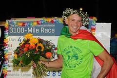 Self-Transcendence 3100 Mile Race vyhrál Ital Andrea Marcato