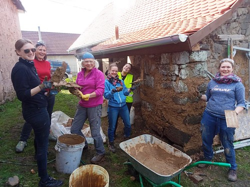 Participants in heritage course in Slovakia