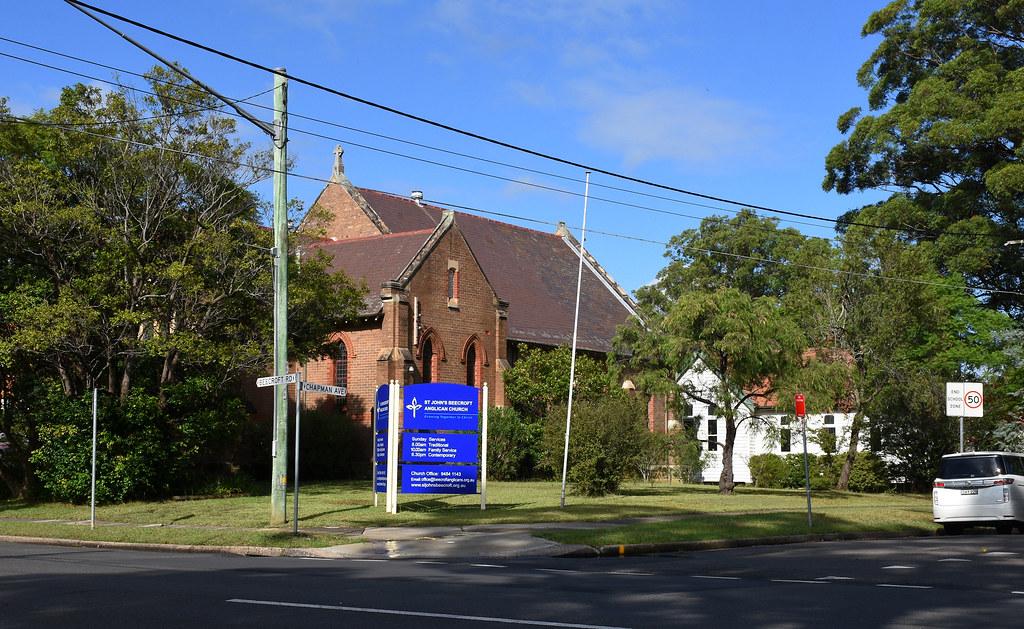 St Johns Anglican Church, Beecroft, Sydney, NSW.