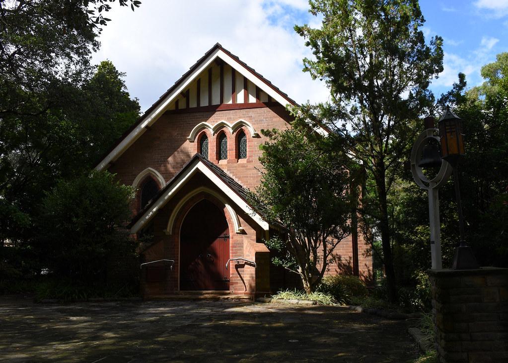 Prebyterian Church. Beecroft, Sydney, NSW.