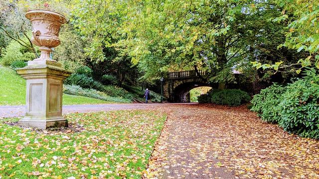 Autumn at Miller Park, Preston