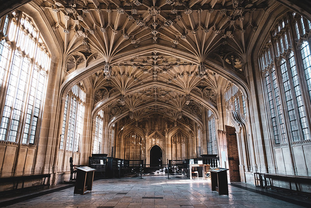 Divinity School - Bodleian Libraries