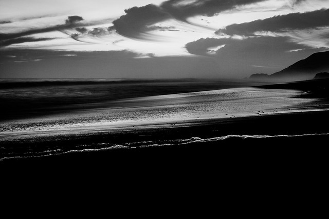 Down by the Sea, Black & White