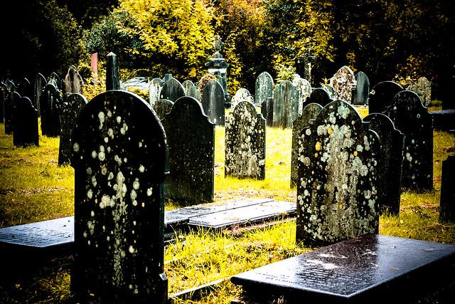 Welsh graves