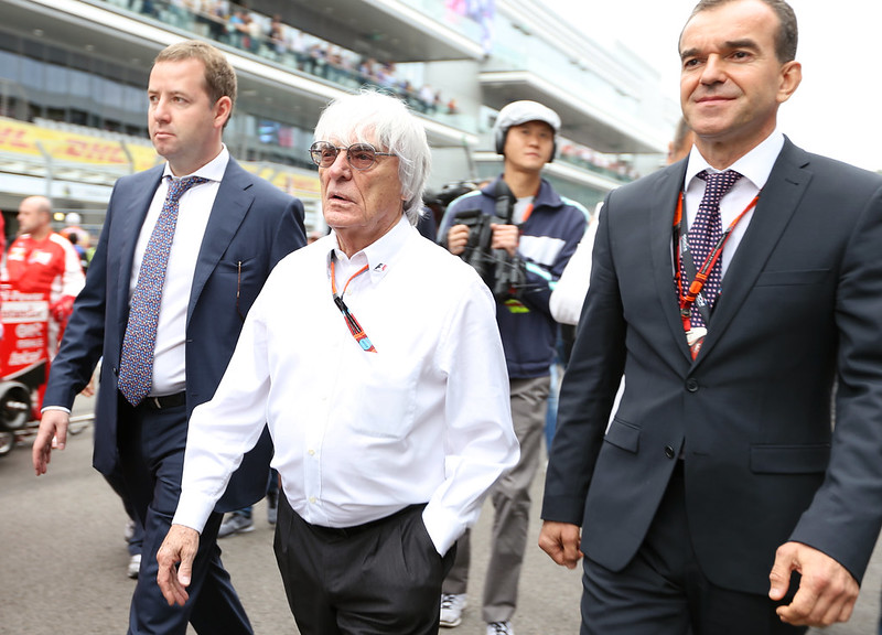 Bernie Ecclestone - 90! EAN pictures from Russian GP 2014? 2015