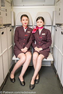 Asian flight attendants.. coming to Patreon