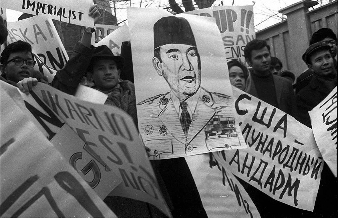 1968. Митинг