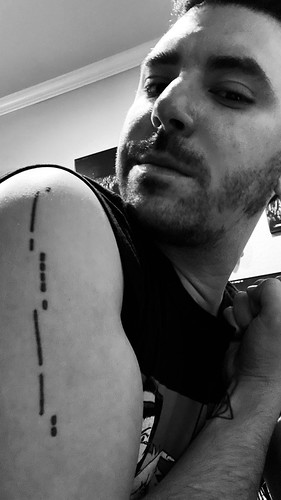 Tattoo Talk: Electronic Artist Animalweapon Tells Us About His Favourite Ink
