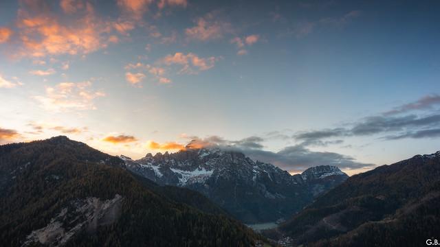 Sunrise Monte Civetta