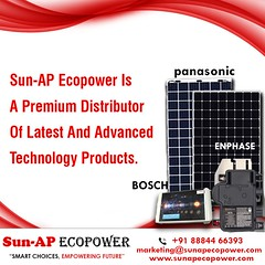 Enphase solar microinverters
