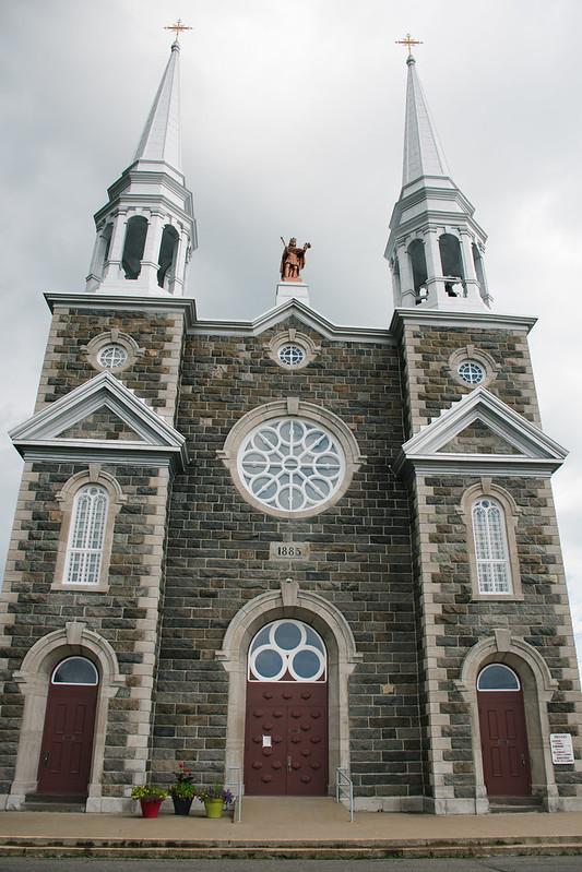 Isle-aux-Coudres, Église Saint-Louis