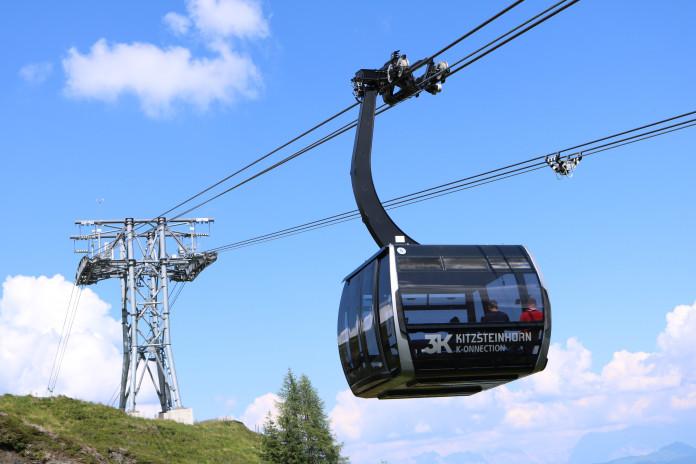 Nová lanovka 3K-Konnection na ledovec Kitzsteinhorn