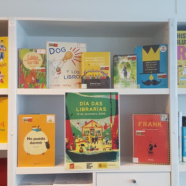 Mostras: Día das librarías 2020, na Biblioteca Os Rosales