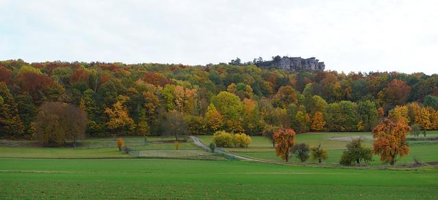 Panorama-Staffelbergblick im Herbst 2020