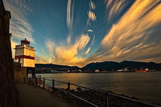 Brockton Lighthouse, Stanley Park, Vancouver, BC