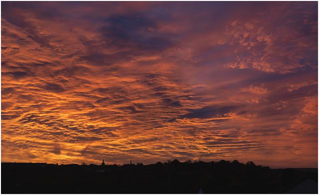 October Sunrise, Glasgow