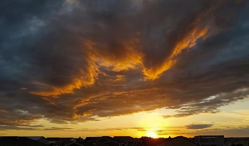 sunsetbeach sunset sunsetnc northcarolina beach clouds light coast travel sun