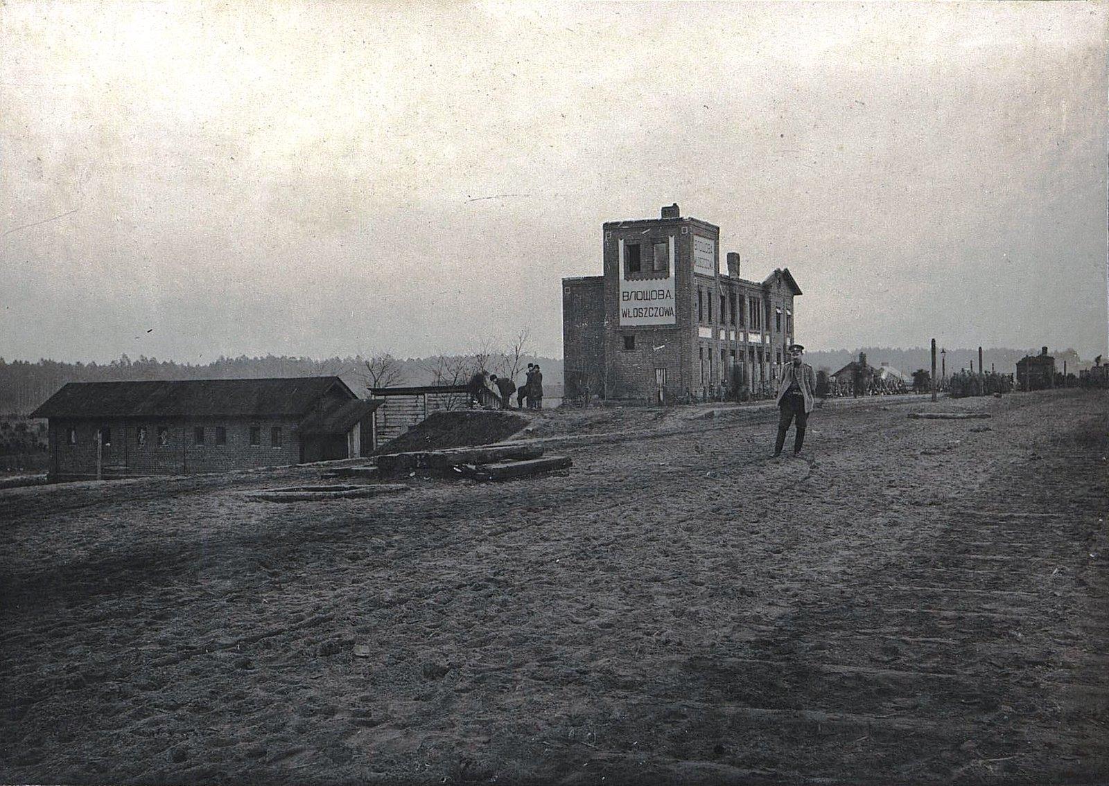 37. Вид на станцию Влощова перед её оставлением