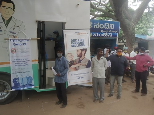 Fight Against COVID-19 @ Sidlaghatta Cocoon Market