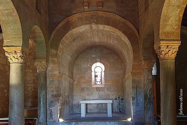 Palencia. Baños de Cerrato 20200805 37 Iglesia visigoda