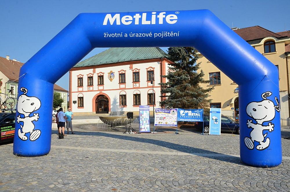 Na kole dětem Žďárskými vrchy 2015