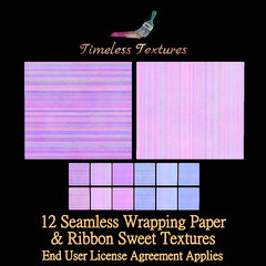TT 12 Seamless Wrapping Paper & Ribbon Sweet Timeless Textures