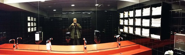 The Swedish Museum of Photography, Stockholm: John in the gents'