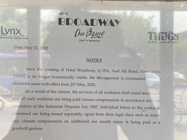 City Obituary - Hotel Broadway, Asaf Ali Road