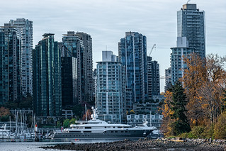 Kogo yacht moored @ Stanley Park, Vancouver, BC