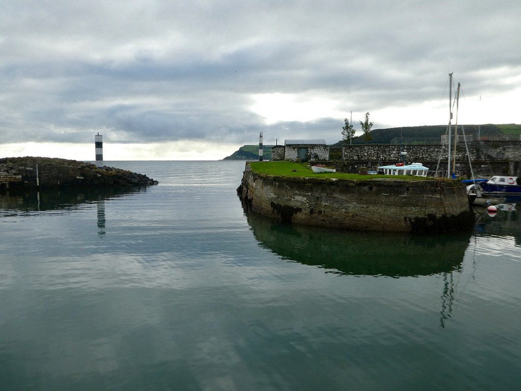 Carnlough harbour, Northern Ireland