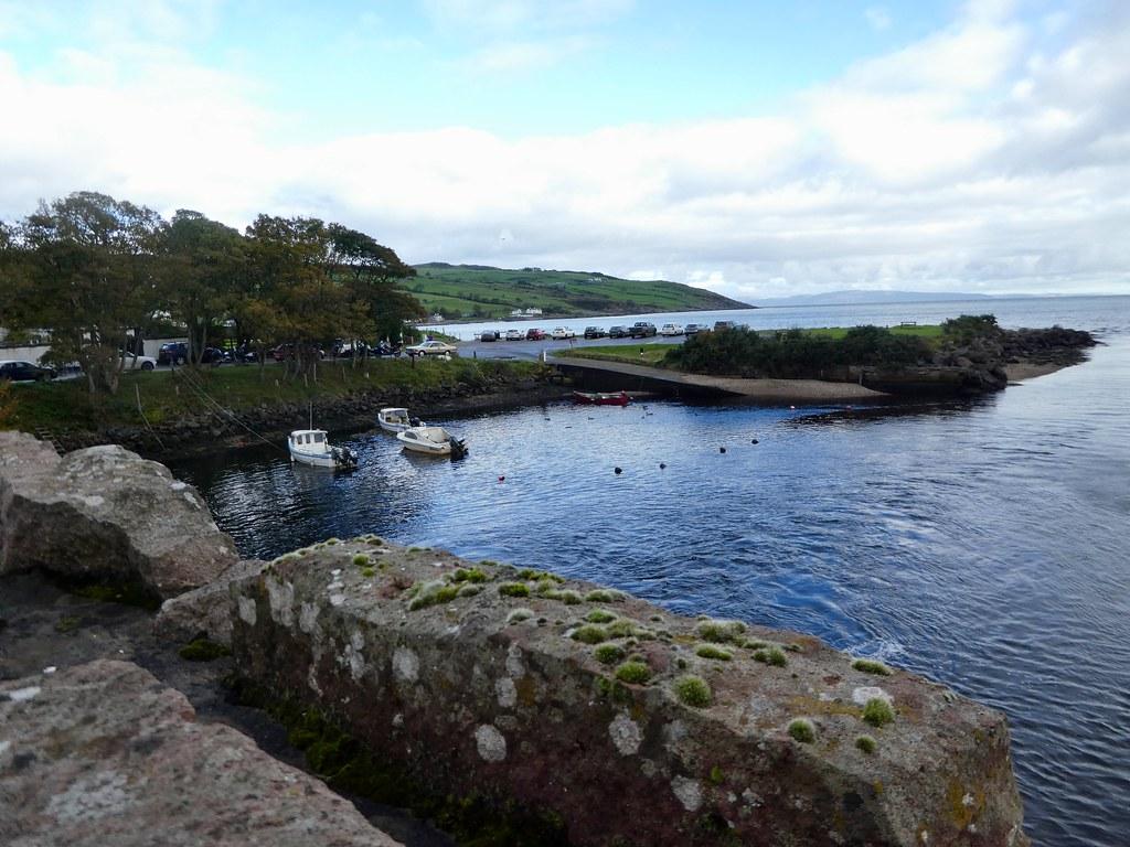 Cushendun harbour, County Antrim