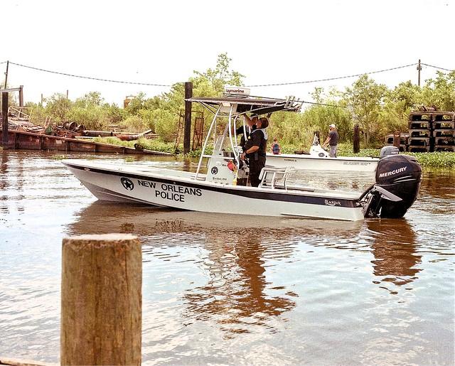 N.O. Police Boat