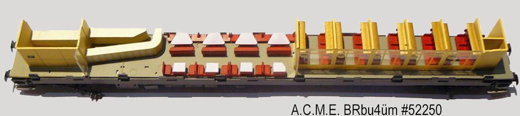 ACME 52250 / 52252 Inneneinrichtung