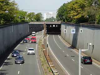 Düsseldorf: Rheinalleetunnel