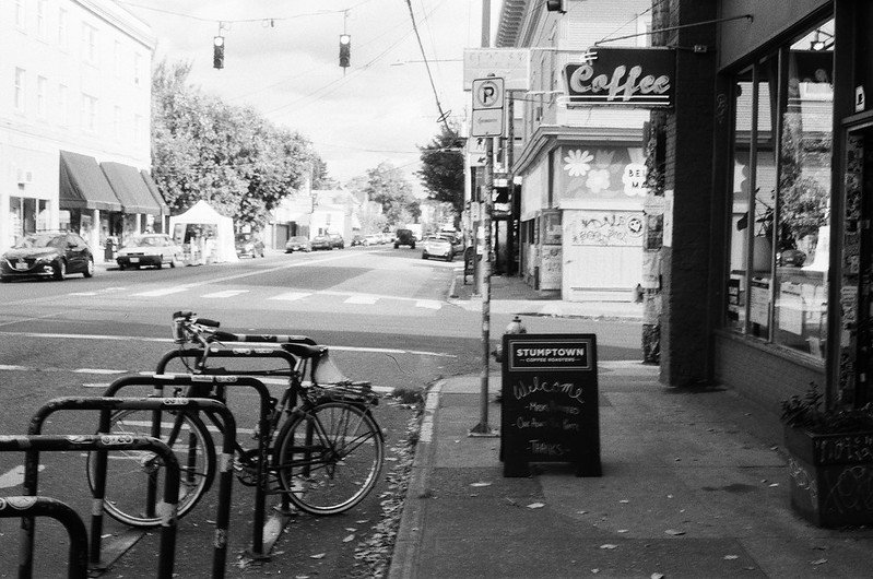Coffeeneuring 2020: Getting Coffee from Stumptown Coffee Roasters on Belmont. 19 Oct 2020