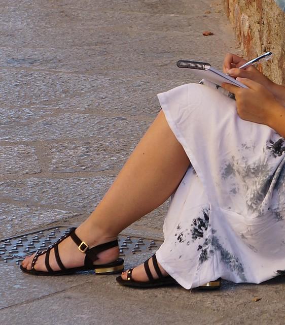 Dibujando la Catedral. Salamanca