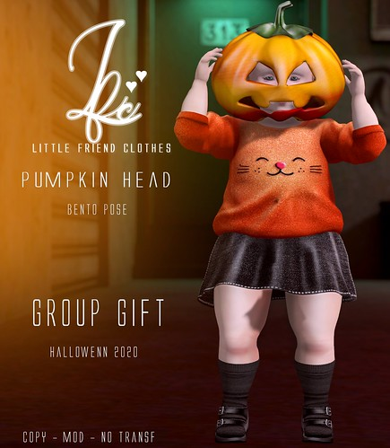 NEW!! {L.F.C} Pumpkin head Pose Bento