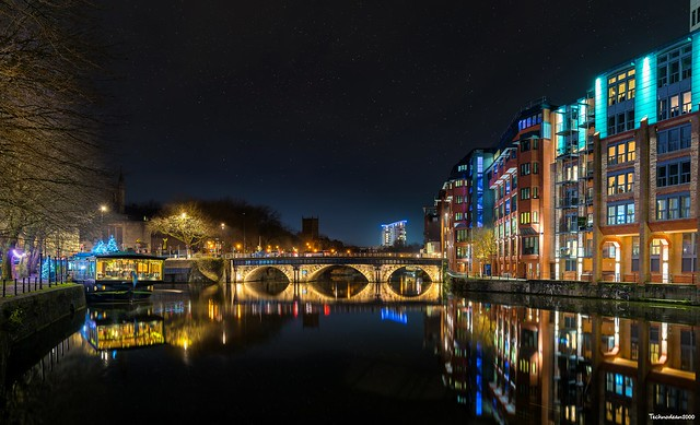 Bristol city bridge