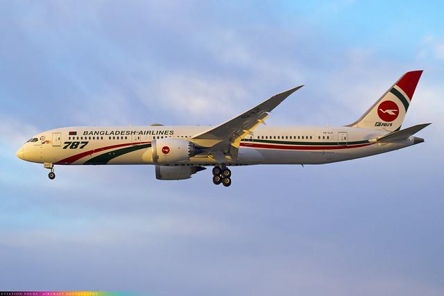 S2-AJY  -  Boeing 787-9 Dreamliner  -  Bangladesh Biman  -  LHR/EGLL 28/10/20