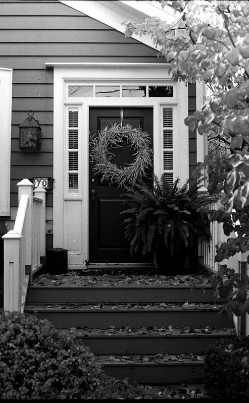 Allan St. Front Door