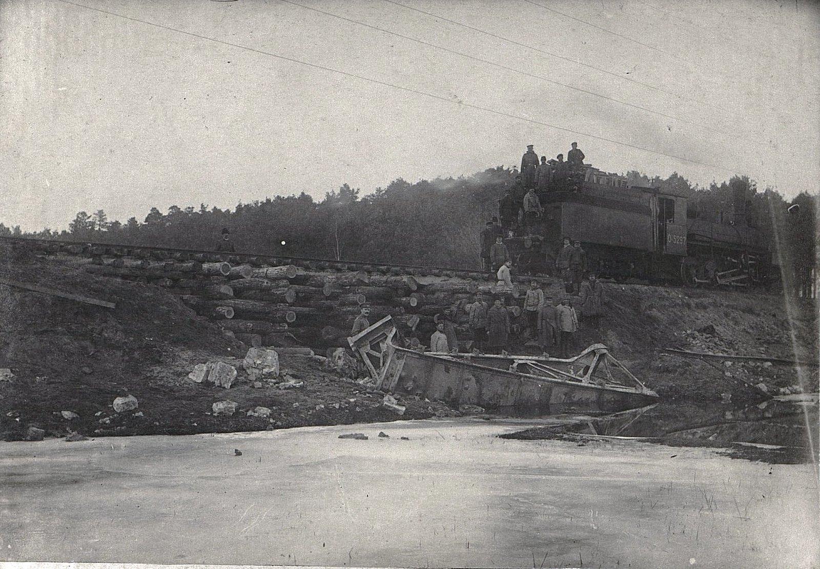 26. Восстановленный трёхсаженный мост на 83-й версте