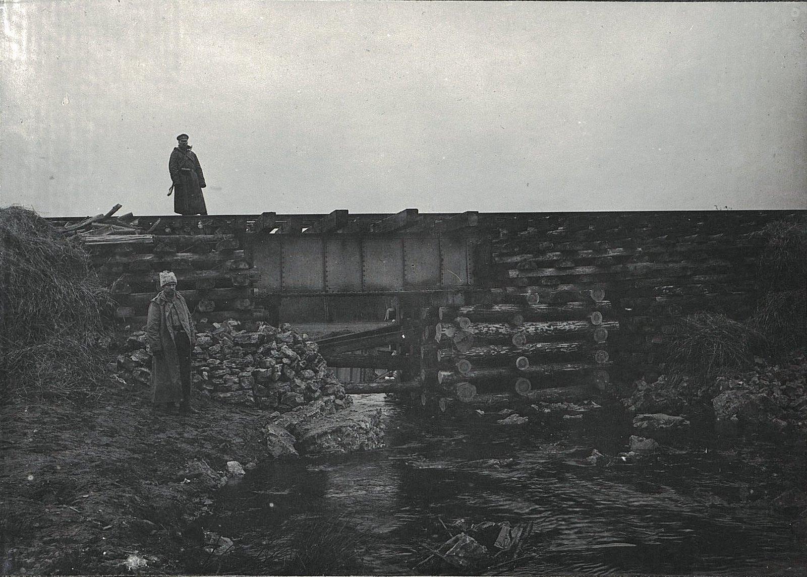 25. Четырёхсаженный мост на 84-й версте, восстановленный Управлением Гербо-Келецкой железной дороги