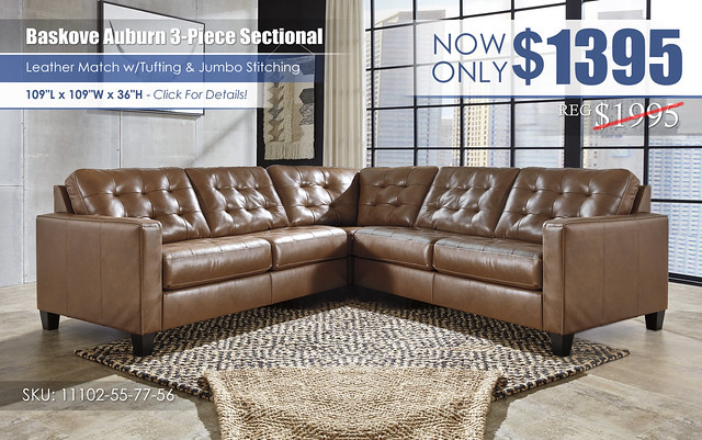 Baskove Auburn 3-Piece Sectional_11102-55-77-56