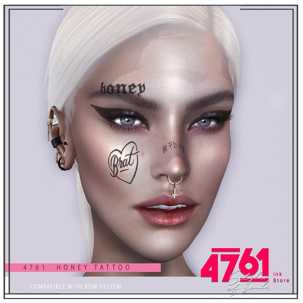 4761 – Brat head Tattoo