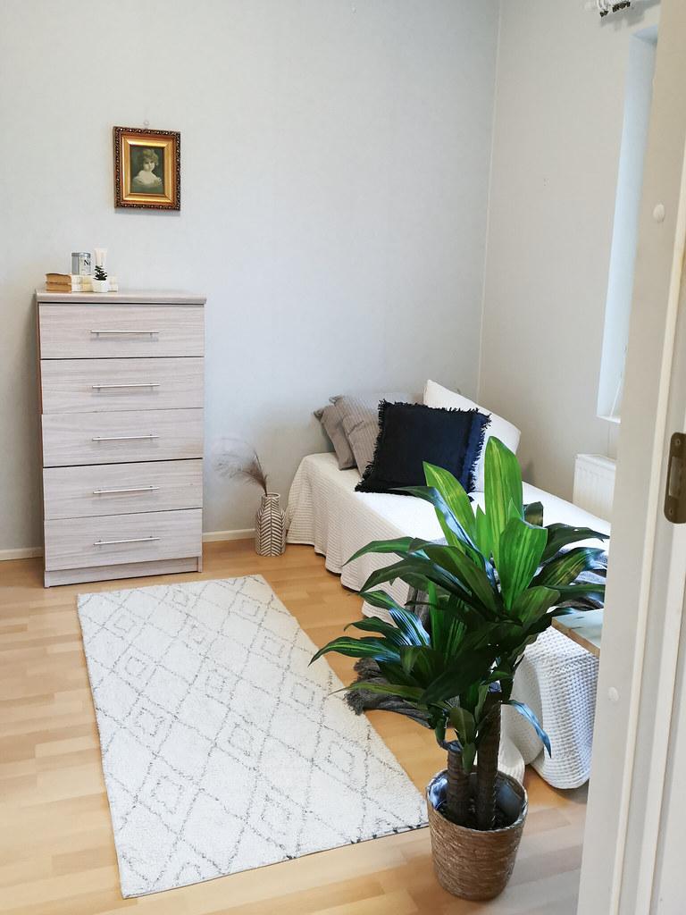 OP Koti Uusimaa, stailattu makuuhuone