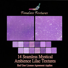 TT 14 Seamless Mystical Ambience Lilac Timeless Textures