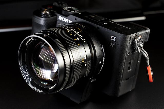 Sony A7c - 7Artisans 50mm f/1.1
